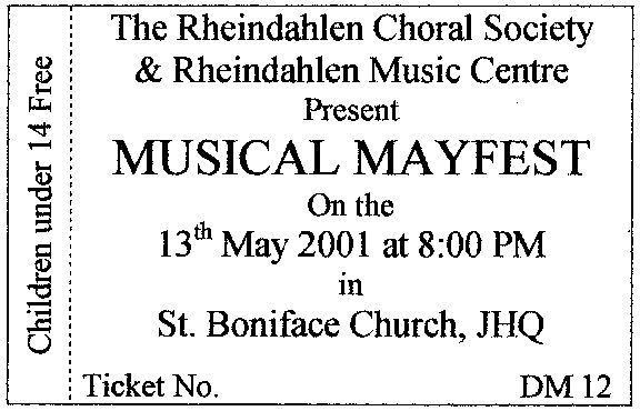 mayfest ticket